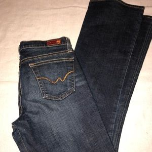 {AG} Angel Bootcut Jeans Size 29
